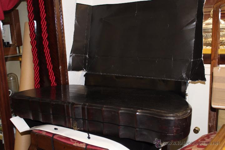 Instrumentos musicales: zitara siglo XIX con piezas en marfil - Foto 13 - 54874353