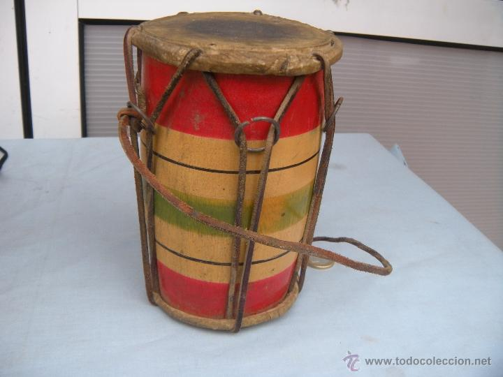 ANTIGUO TAMBOR TIMBAL (Música - Instrumentos Musicales - Percusión)