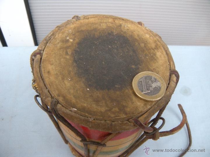 Instrumentos musicales: ANTIGUO TAMBOR TIMBAL - Foto 4 - 54889579