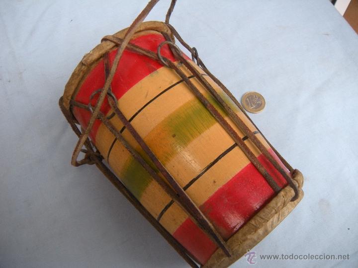 Instrumentos musicales: ANTIGUO TAMBOR TIMBAL - Foto 5 - 54889579