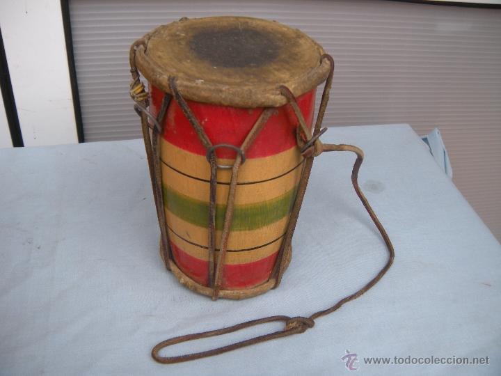 Instrumentos musicales: ANTIGUO TAMBOR TIMBAL - Foto 6 - 54889579