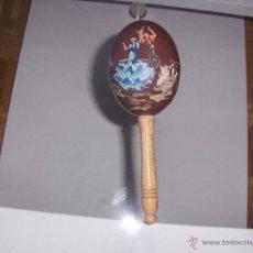 Instrumentos musicales: MARACA. Lote 54910465