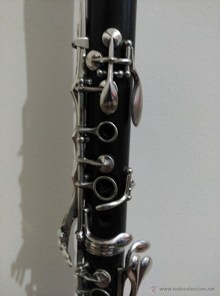 Instrumentos musicales: Clarinete Gautrot Marquet S.XIX - Foto 2 - 58205812