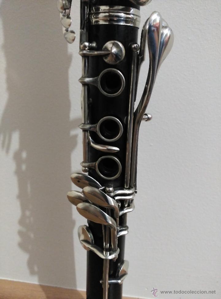 Instrumentos musicales: Clarinete Gautrot Marquet S.XIX - Foto 3 - 58205812
