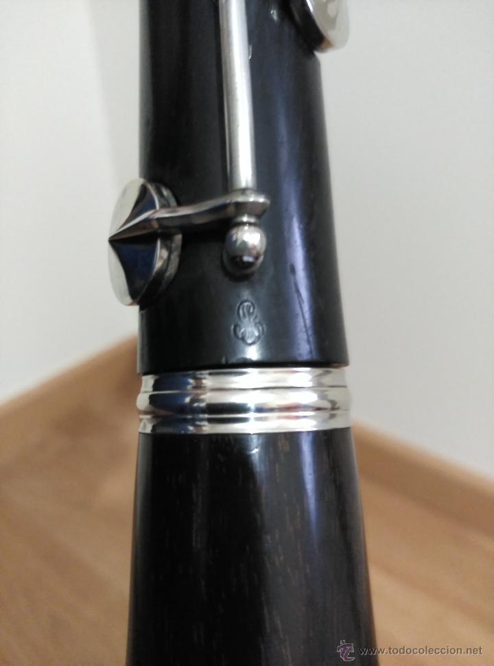 Instrumentos musicales: Clarinete Gautrot Marquet S.XIX - Foto 4 - 58205812