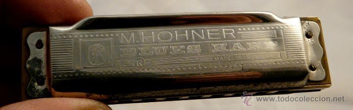 Instrumentos musicales: HARMONICA BLUES HARP - HÖHNER - Foto 7 - 54955818
