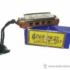 Instrumentos musicales: ANTIGUA Y MINUSCULA ARMONICA DE BOCA ESTRELLA. Lote 28000644