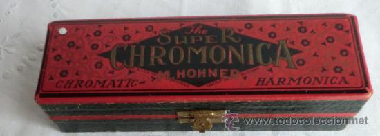 Instrumentos musicales: HARMONICA SUPER CHROMONICA M.HONER Nº260 1/2 ORIGINAL ALEMANA,IDEAL COLECCIONISTAS - Foto 4 - 55061326