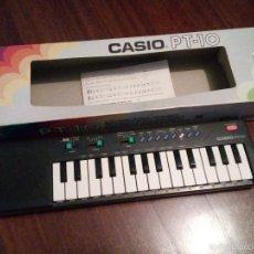Instrumentos musicales: TECLADO CASIO PT-10 - FUNCIONA - EN EMBALAJE ORIGINAL PIANO ORGANO ELECTRÓNICO. Lote 55399027