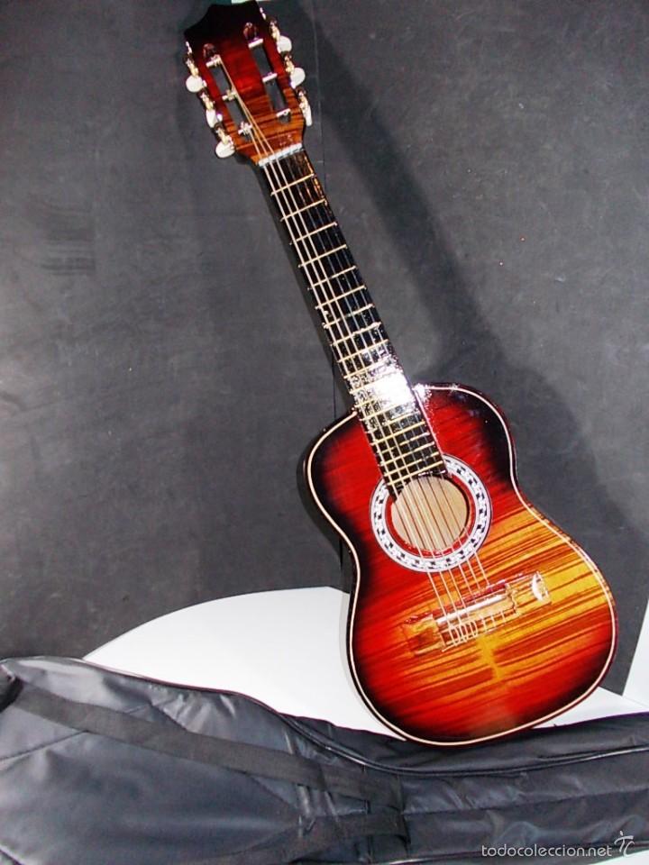 PRECIOSA GUITARRA ESPAÑOLA ARTESANAL (Música - Instrumentos Musicales - Cuerda Antiguos)