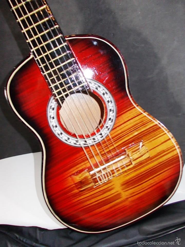 Instrumentos musicales: PRECIOSA GUITARRA ESPAÑOLA ARTESANAL - Foto 2 - 55785551