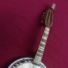 Instrumentos musicales: ANTIGUO BANJO, 8 CUERDAS. POSIBLE SALTARELLO, AÑOS 30.. Lote 55921328