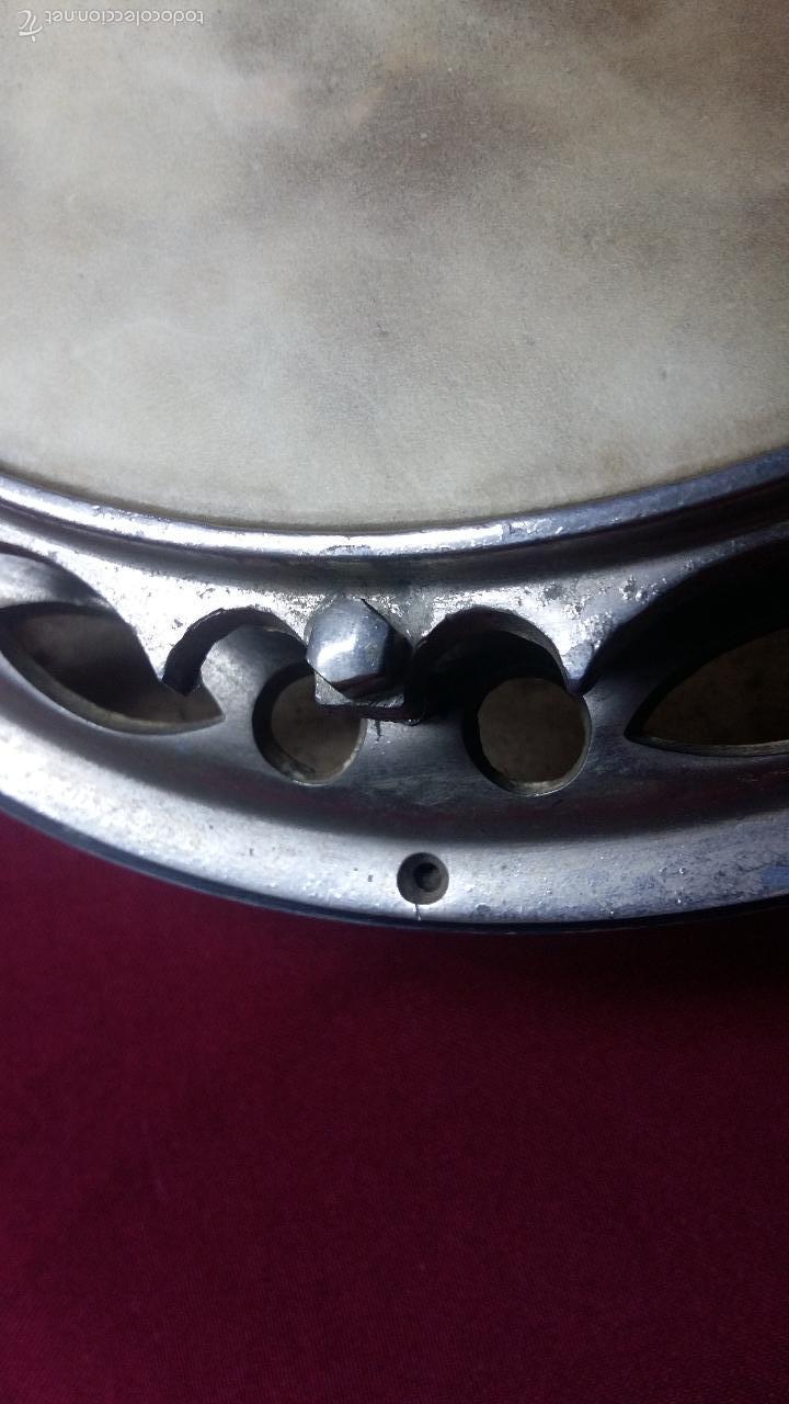 Instrumentos musicales: ANTIGUO BANJO, 8 CUERDAS. POSIBLE SALTARELLO, AÑOS 30. - Foto 11 - 55921328