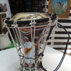 Instrumentos musicales: TIMBAL O TAMBOR DECORATIVO EN CERÁMICA. Lote 56024176