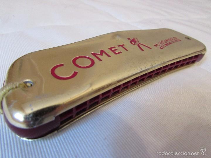 Instrumentos musicales: ANTIGÜA ARMÓNICA COMET. M. HOHNER - C40 - alemana - Foto 3 - 56257151