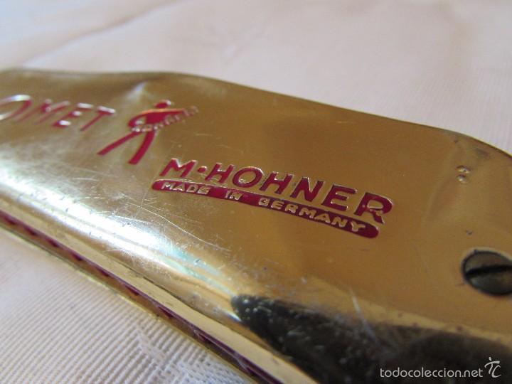 Instrumentos musicales: ANTIGÜA ARMÓNICA COMET. M. HOHNER - C40 - alemana - Foto 8 - 56257151