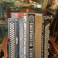 Instrumentos musicales: ACORDEON FRANCES ANTIGUO. Lote 56382257