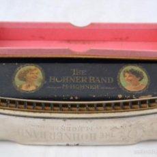 Instrumentos musicales: ANTIGUA ARMONICA EN SU CAJA * THE HOHNER BAND * GERMANY * AÑOS 50. Lote 56394225