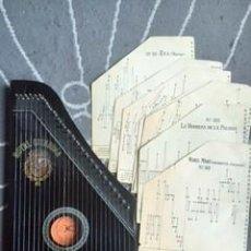 Instrumentos musicales: INSTRUMENTO DE MÚSICA-ROYAL CITARINA CON 14 PARTITURAS. Lote 56619331