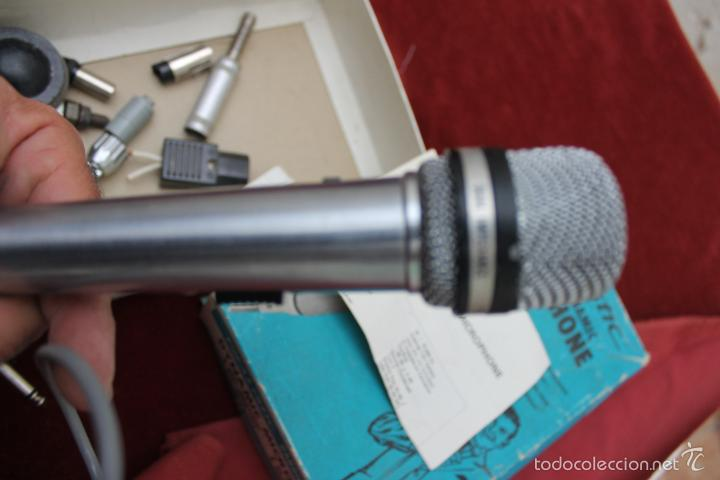 Instrumentos musicales: DYNAMIC MICROPHONE REALISTIC CARDIOID 33-992 MADE IN JAPAN - Foto 6 - 56642323