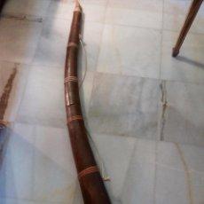 Instrumentos musicales: ANTIGUO INSTRUMENTO MUSICAL DE VIENTO EN MADERA . Lote 56696040