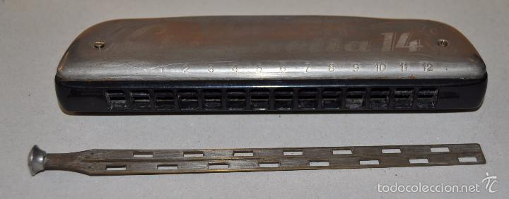 Instrumentos musicales: ANTIGUA ARMONICA DE LA MARCA HOHNER. MANUFACTURA ALEMANA - Foto 6 - 57224808
