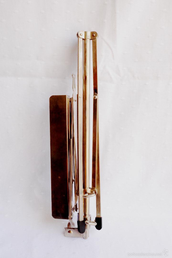 Instrumentos musicales: ATRIL DE METAL PARA PARTITURAS, APUNTES ETC COMO NUEVO - Foto 2 - 57351660