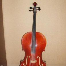 Instrumentos musicales: PRECIOSO VIOLONCHELO, CON ARCO, FUNDA, BOTE DE GRASSA. PERFECTAS CONDICIONES.. Lote 57494164