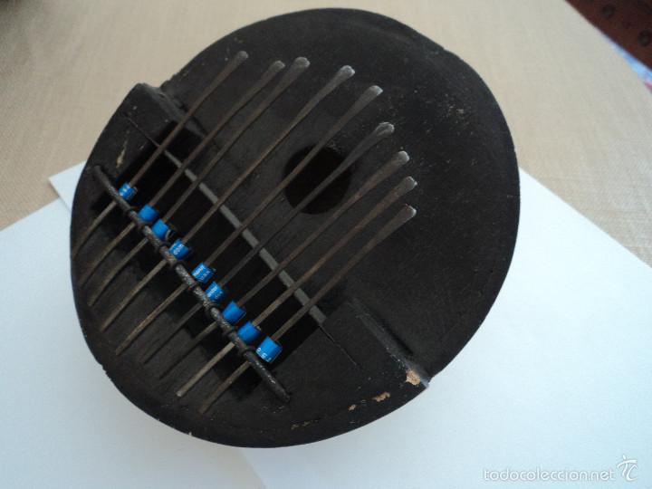 Instrumentos musicales: garimba o kalimba instrumento musical de percusion media calabaza 9 notas diametro 15 cm - Foto 4 - 57556073