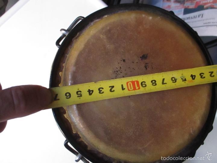Instrumentos musicales: 2 Tambores unidos de madera y piel de marca One Rhythm - Foto 11 - 57565249