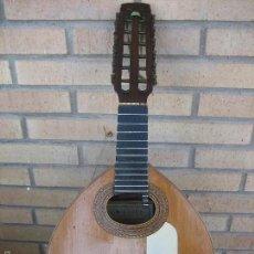 Instrumentos musicales: BANDURRIA ANTIGUA DE BENITO FERRER FECHADA EN 1913. ANTIQUE GUITAR. GUITARRA.. Lote 57694784