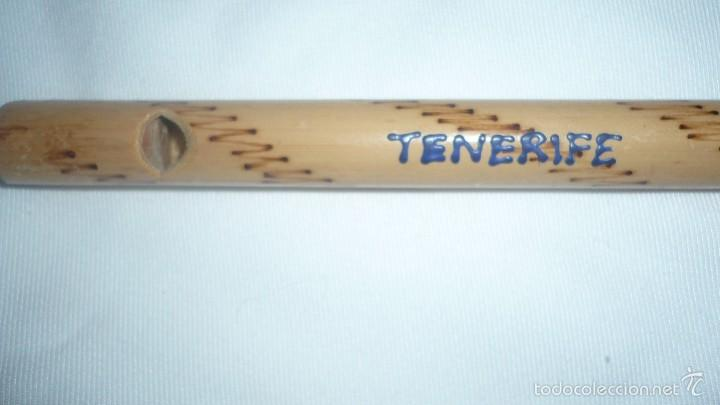 Instrumentos musicales: FLAUTA MADERA CANARIA (DE TENERIFE) - Foto 2 - 57750917