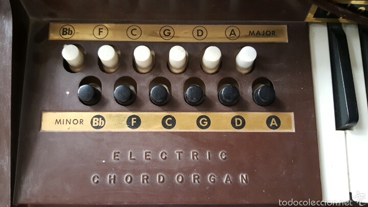 Instrumentos musicales: Organo minor bb electric chord organ - Foto 5 - 57924546