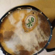 Instrumentos musicales: BOMBO PARA SEMANA SANTA, 85 CM. DE DIAMETRO CON SU FUNDA. Lote 58125430