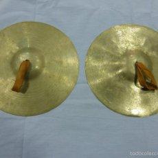 Instrumentos musicales: MUY ANTIGUOS PLATILLOS MUSICALES-EXCELENTE SONIDO Y CONSERVACIÓN-ORIGINALES PRINCIPIOS S.XX. Lote 58427987
