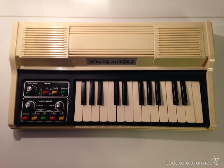 Instrumentos musicales: Teclado A-One Electron GX.2 - Foto 2 - 58636810