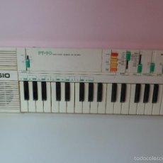 Instrumentos musicales: ORGANO CASIO PT-90 EN BUEN ESTADO Y FUNCIONANDO AÑOS 80. Lote 58994190