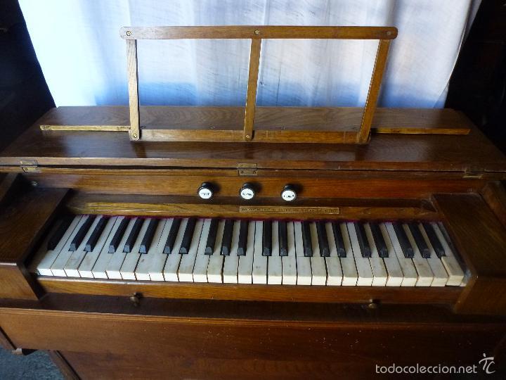 ANTIGUO ÓRGANO, ARMONIO DE IGLESIA (Música - Instrumentos Musicales - Pianos Antiguos)