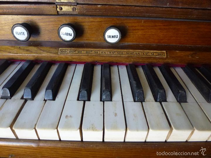 Instrumentos musicales: Antiguo órgano, armonio de iglesia - Foto 5 - 59109715