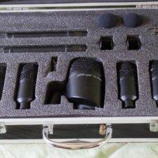 Instrumentos musicales: SET DE MICRÓFONOS STAGG DMS-5700H. Lote 59185000
