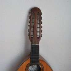 Instrumentos musicales: ANTIGUA BANDURRIA - FÁBRICA DE GUITARRAS VILSOR - VALENCIA. Lote 60010635