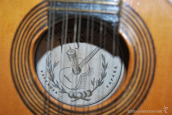 Instrumentos musicales: ANTIGUA BANDURRIA - FÁBRICA DE GUITARRAS VILSOR - VALENCIA - Foto 9 - 60010635