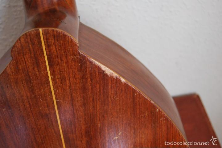 Instrumentos musicales: ANTIGUA BANDURRIA - FÁBRICA DE GUITARRAS VILSOR - VALENCIA - Foto 11 - 60010635