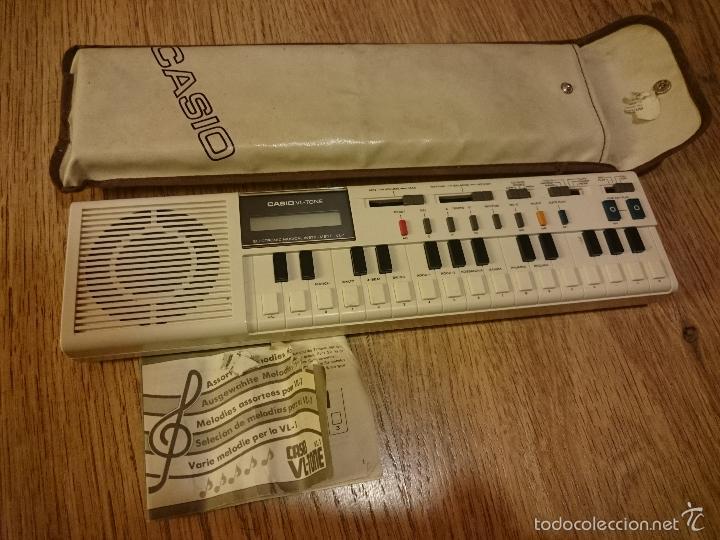 TECLADO CASIO VL TONE CON FUNDA ORIGINAL E INSTRUCCIONES (Música - Instrumentos Musicales - Pianos Antiguos)