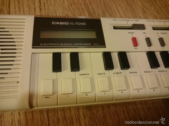 Instrumentos musicales: Teclado casio VL Tone con funda original e instrucciones - Foto 2 - 60137891