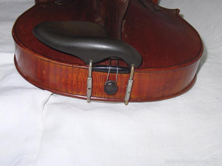 Instrumentos musicales: VIOLIN. MARCA AL FUEGO VINCENZO RUGIERI. CREMONA. 1727. ESTUCHE Y ARCO. - Foto 15 - 53870301