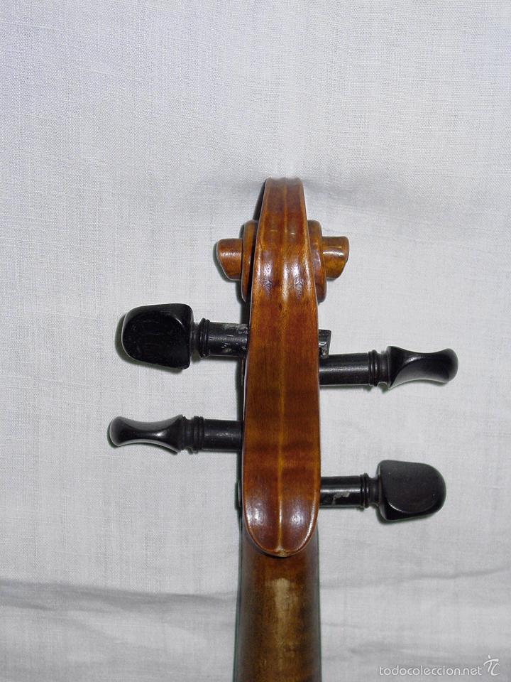 Instrumentos musicales: VIOLIN. MARCA AL FUEGO VINCENZO RUGIERI. CREMONA. 1727. ESTUCHE Y ARCO. - Foto 22 - 53870301