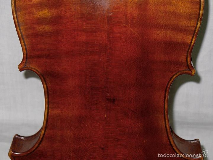 Instrumentos musicales: VIOLIN. MARCA AL FUEGO VINCENZO RUGIERI. CREMONA. 1727. ESTUCHE Y ARCO. - Foto 26 - 53870301