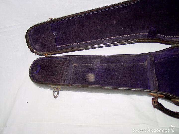 Instrumentos musicales: VIOLIN. MARCA AL FUEGO VINCENZO RUGIERI. CREMONA. 1727. ESTUCHE Y ARCO. - Foto 43 - 53870301