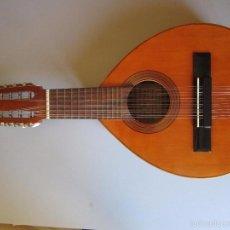 Instrumentos musicales: MAGNIFICA BANDURRIA DE 12 CUERDAS MANUEL RAIMUNDO LUTHIER DE CASA PARRAMON BARCELONA IMPECABLE. Lote 60947243
